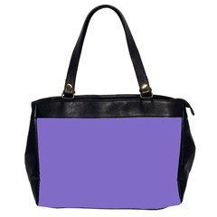 Lilac   Purple Color Design Office Handbags (2 Sides)  by picsaspassion
