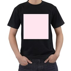 Pink Color Design Men s T Shirt (black) by picsaspassion