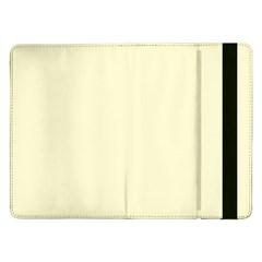 Yellow Color Design Samsung Galaxy Tab Pro 12 2  Flip Case by picsaspassion