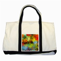 Lagoon Two Tone Tote Bag by theunrulyartist