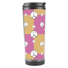 Symbol Peace Drawing Pattern Travel Tumbler by dflcprints