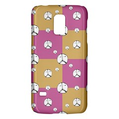 Symbol Peace Drawing Pattern Galaxy S5 Mini by dflcprints