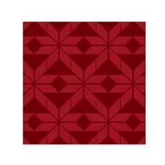 Pattern Background Texture Aztec Small Satin Scarf (Square) by Zeze