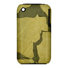 Stylish Gold Stone Apple iPhone 3G/3GS Hardshell Case (PC+Silicone) by yoursparklingshop
