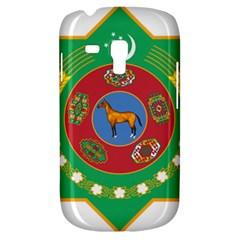 National Emblem Of Turkmenistan  Samsung Galaxy S3 Mini I8190 Hardshell Case by abbeyz71