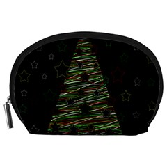 Xmas Tree 2 Accessory Pouches (large)  by Valentinaart