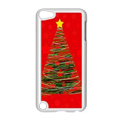 Xmas Tree 3 Apple Ipod Touch 5 Case (white) by Valentinaart