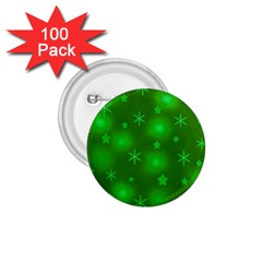 Green Xmas Design 1 75  Buttons (100 Pack)  by Valentinaart