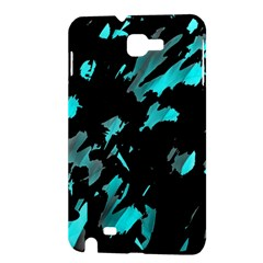 Painter was here - cyan Samsung Galaxy Note 1 Hardshell Case