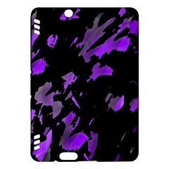 Painter Was Here   Purple Kindle Fire Hdx Hardshell Case by Valentinaart