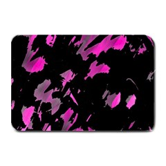 Painter Was Here   Magenta Plate Mats by Valentinaart