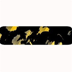 Painter Was Here   Yellow Large Bar Mats by Valentinaart