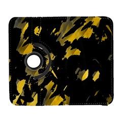 Painter was here - yellow Samsung Galaxy S  III Flip 360 Case by Valentinaart