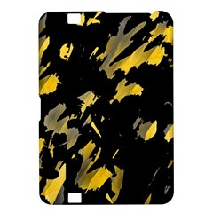 Painter Was Here   Yellow Kindle Fire Hd 8 9  by Valentinaart