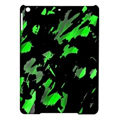 Painter Was Here   Green Ipad Air Hardshell Cases by Valentinaart