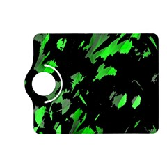 Painter Was Here   Green Kindle Fire Hd (2013) Flip 360 Case by Valentinaart