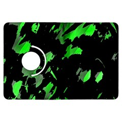 Painter Was Here   Green Kindle Fire Hdx Flip 360 Case by Valentinaart