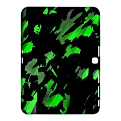 Painter Was Here   Green Samsung Galaxy Tab 4 (10 1 ) Hardshell Case  by Valentinaart