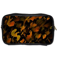 Abstract Autumn  Toiletries Bags by Valentinaart