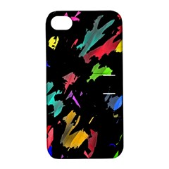 Painter Was Here Apple Iphone 4/4s Hardshell Case With Stand by Valentinaart