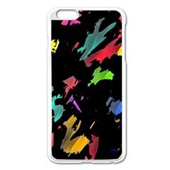 Painter Was Here Apple Iphone 6 Plus/6s Plus Enamel White Case by Valentinaart