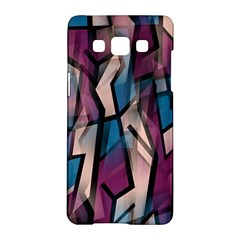 Purple high art Samsung Galaxy A5 Hardshell Case  by Valentinaart