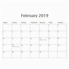 2017 Calendar Yard Work By Lisa Minor   Wall Calendar 11  X 8 5  (12 Months)   Lgyboy4fs97b   Www Artscow Com Feb 2017