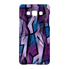 Purple decorative abstract art Samsung Galaxy A5 Hardshell Case  by Valentinaart