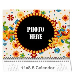 2017 Celebrate Calendar By Lisa Minor   Wall Calendar 11  X 8 5  (12 Months)   O3735plbkykb   Www Artscow Com Cover
