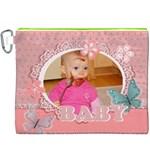 baby - Canvas Cosmetic Bag (XXXL)