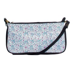 Intricate Floral Collage  Shoulder Clutch Bags by dflcprints