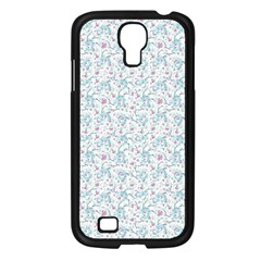 Intricate Floral Collage  Samsung Galaxy S4 I9500/ I9505 Case (black) by dflcprints
