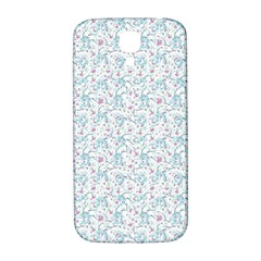 Intricate Floral Collage  Samsung Galaxy S4 I9500/i9505  Hardshell Back Case by dflcprints