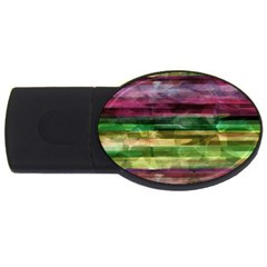 Colorful Marble Usb Flash Drive Oval (2 Gb)  by Valentinaart