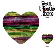 Colorful Marble Multi Purpose Cards (heart)  by Valentinaart