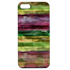Colorful Marble Apple Iphone 5 Hardshell Case With Stand by Valentinaart