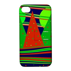Magical Xmas Night Apple Iphone 4/4s Hardshell Case With Stand by Valentinaart