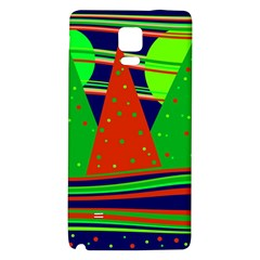Magical Xmas Night Galaxy Note 4 Back Case by Valentinaart