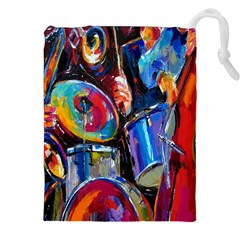 Abstract Paintings Wallpapers Drawstring Pouches (XXL) by AnjaniArt
