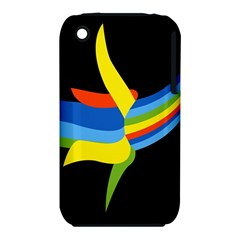 Abstraction Banana Apple Iphone 3g/3gs Hardshell Case (pc+silicone) by AnjaniArt