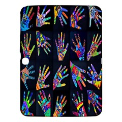 Art With Your Hand Samsung Galaxy Tab 3 (10 1 ) P5200 Hardshell Case  by AnjaniArt