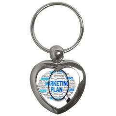Article Market Plan Key Chains (heart)  by AnjaniArt