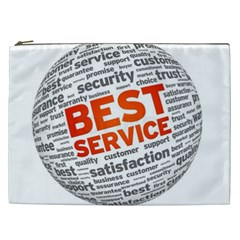 Best Service Cosmetic Bag (xxl)  by AnjaniArt