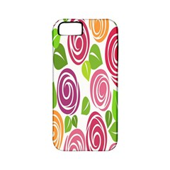 Blue Rose Apple Iphone 5 Classic Hardshell Case (pc+silicone) by AnjaniArt
