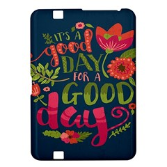 C mon Get Happy With A Bright Floral Themed Print Kindle Fire Hd 8 9  by AnjaniArt