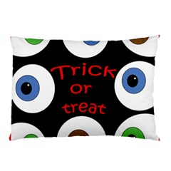 Trick Or Treat  Pillow Case by Valentinaart