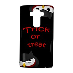 Trick or treat - owls LG G4 Hardshell Case by Valentinaart