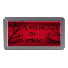 Trick Or Treat   Black Cat Memory Card Reader (mini) by Valentinaart