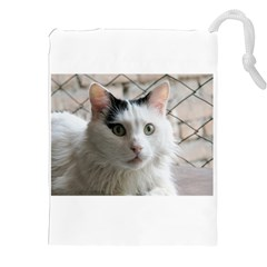 Turkish Van Drawstring Pouches (XXL) by TailWags