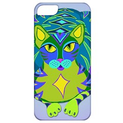 Peacock Tabby Apple Iphone 5 Classic Hardshell Case by jbyrdyoga